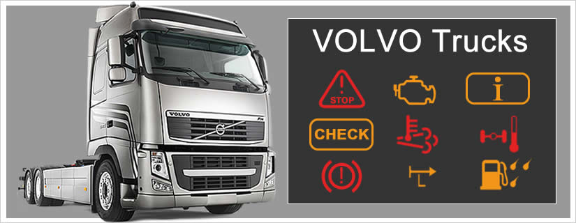 Volvo Trucks Dashboard Warning Lights Symbols Explained