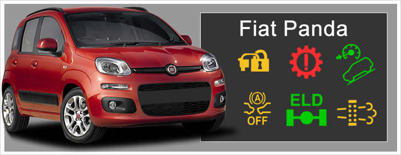 Fiat Panda Dashboard Warning Lights + Symbols Explained