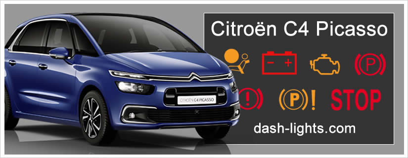 Citroën C4 Picasso / Grand C4 Picasso Dashboard Warning Lights
