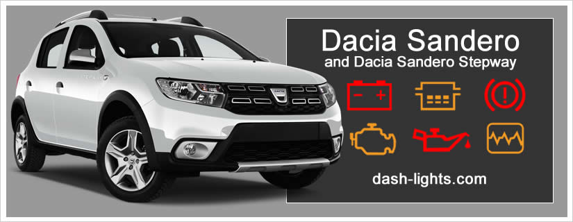 Dacia Sandero    Sandero Stepway Dashboard Warning Lights Meaning