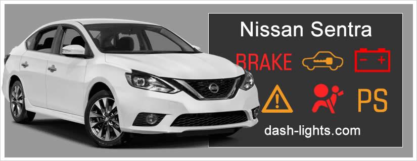 Nissan Sentra Dashboard Warning Lights / Symbols