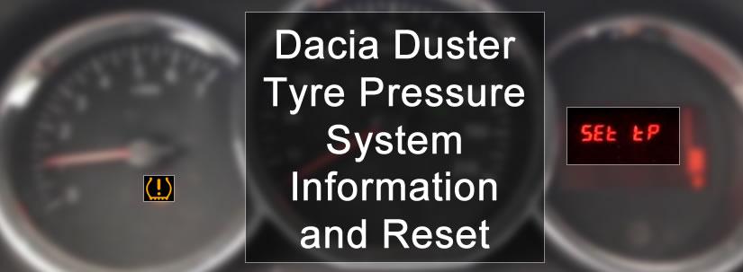 Dacia Duster Tyre Pressure Warning Light - DASH-LIGHTS COM