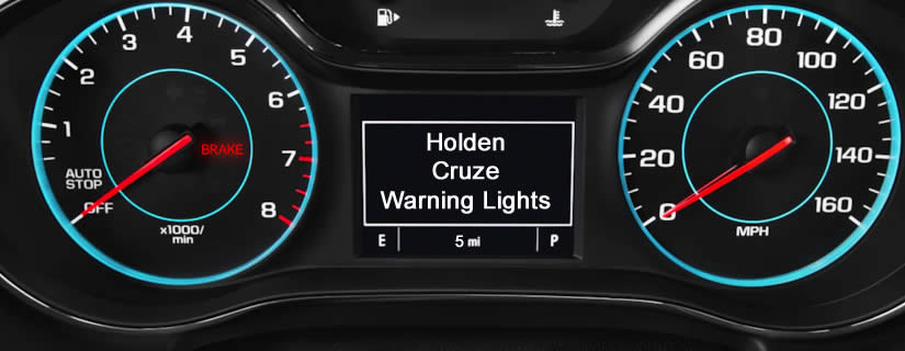 Holden Cruze Dash Warning Lights Meaning