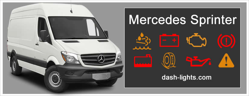 mercedes sprinter dashboard warning lights