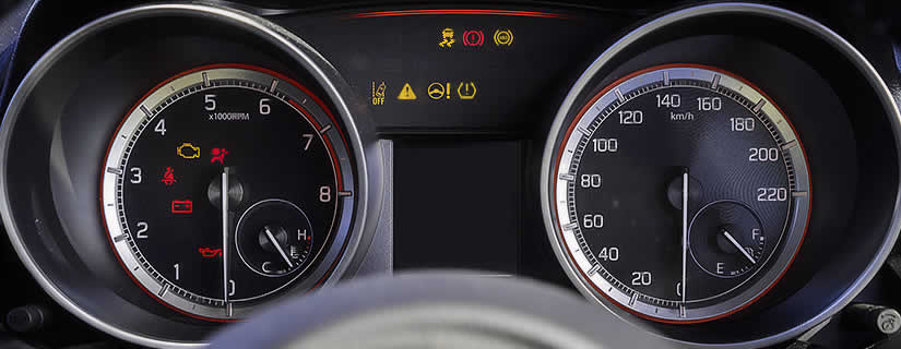 Suzuki Swift Dashboard Warning Lights