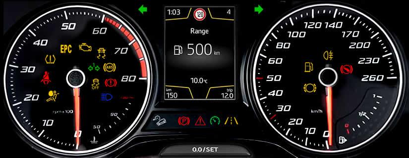 SEAT Ateca Warning Lights and Dash Symbols Meaning