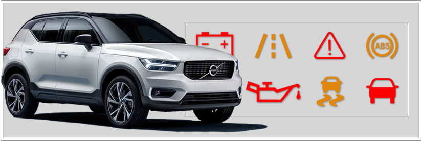 Volvo XC40 Complete Warning Light Guide