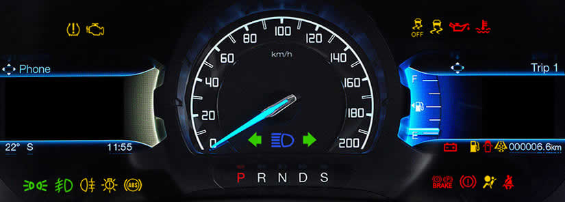 Ford Ranger Dashboard Warning Lights