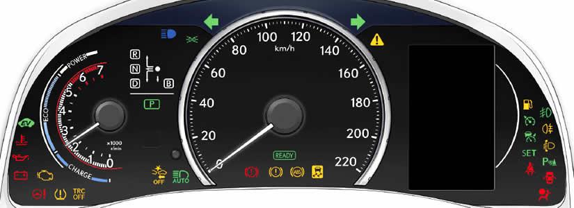 Lexus CT 200H Dashboard Warning Lights