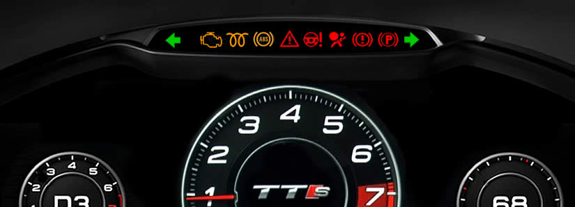 Audi TT Dashboard Warning Lights - DASH-LIGHTS COM
