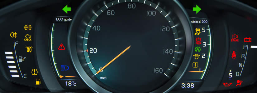 Volvo V40 Dashboard Warning Lights - DASH-LIGHTS COM