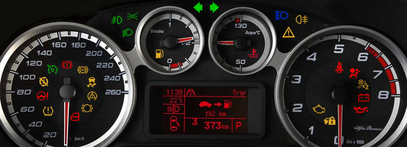 Alfa Romeo MiTo Dashboard Warning Lights