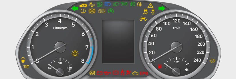 Hyundai i30 Dashboard Warning Lights