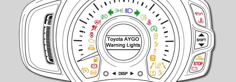 Toyota AYGO Dashboard Warning Lights - DASH-LIGHTS COM