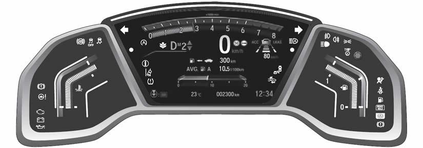 Honda CR-V Dashboard Warning Lights