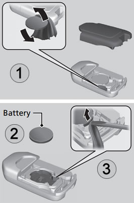 Honda Key Battery Replacement >> How To Change Honda Cr V Remote Battery Dash Lights Com