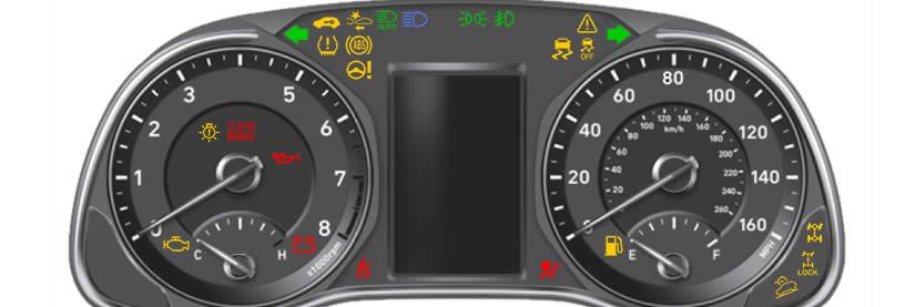 Hyundai Kona Dashboard Warning Lights