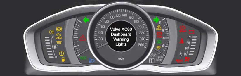 Volvo XC60 Dashboard Warning Lights