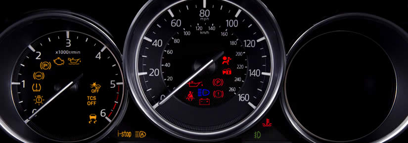 Mazda CX-5 Dashboard Warning Lights