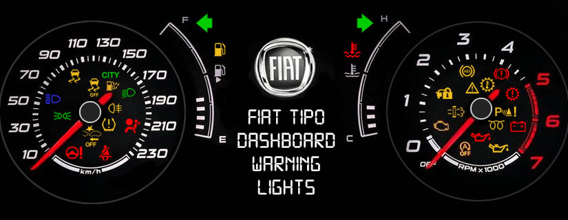 Fiat Tipo Dashboard Warning Lights