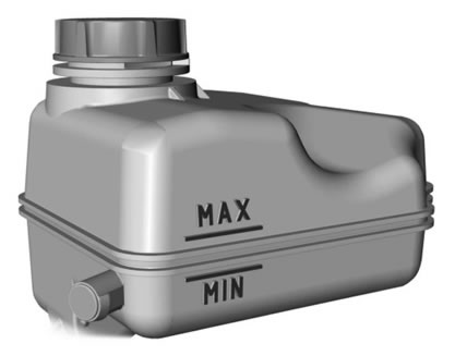 Ford S MAX Coolant Tank
