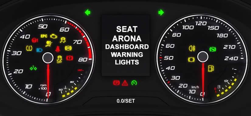 SEAT Arona Dashboard Warning Lights