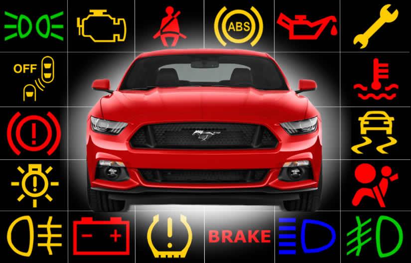 Ford Mustang Dashboard Warning Lights