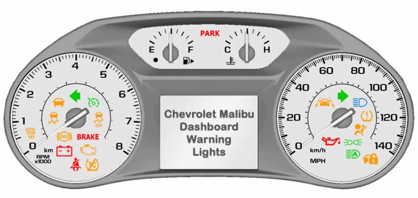 Chevy Malibu Dashboard Warning Lights